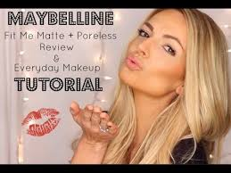 maybelline fit me matte poreless