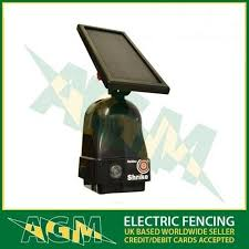 Hotline Shrike Solar Energiser Fence Kit Electric Fencing Ideal For Horses Etc For Sale Online Ebay