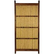 Red Lantern 4 Ft H X 1 Ft W Bamboo Fence Panel In The Wood Fence Panels Department At Lowes Com