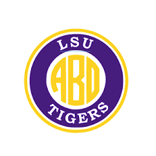Lsu Tigers Monogram Decal For Yeti Laptop Car Truck Tumbler Ebay