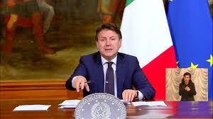 La conferenza stampa di Giuseppe Conte in diretta dopo il Consiglio dei  Ministri - 6 aprile 2020 - YouTube