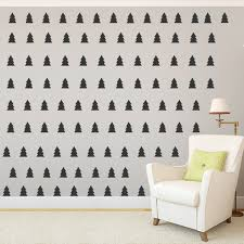 Wallums Wall Decor Mini Pine Trees Wall Decal Wayfair