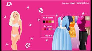 barbie dress up games you