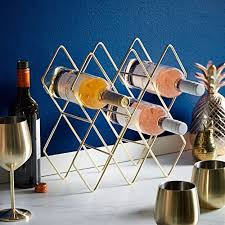 wine rack freestanding holder