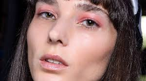 pink makeup is having its moment now