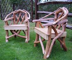 rustic garden furniture coppice