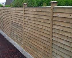 How To Build A Horizontal Feather Edge Fence Google Search Build Edge Feather Fence In 2020 Front Yard Fence Horizontal Fence Fence Landscaping