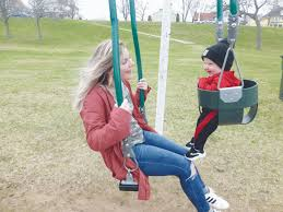 Unique swings installed at parks | News, Sports, Jobs - Daily Press