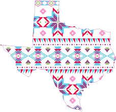 5in X 5in Aztec Pattern Texas Sticker Vinyl Tribal Print Vehicle Decal Stickertalk