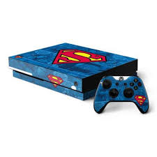 Superman Logo Xbox One X Bundle Skin Dc Comics