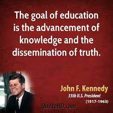 john f kennedy education quotes quotehd