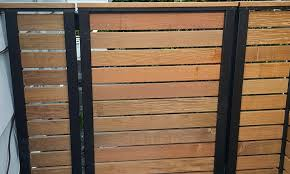 Contemporary Horizontal Fence Seattle Deck Supply Inc