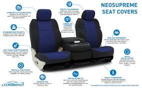 coverking neosupreme custom fit seat covers
