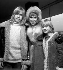 Wendy Craig With Sons #12273676 Framed Prints, Wall Art, Posters
