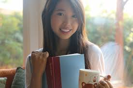 ally gong asian girl cute mug reading book inspiration milan kundera  ignorance - Ally Gong