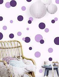 Amazon Com Polka Dot Wall Decals Girls Room Wall Decor Stickers Wall Dots Vinyl Circle Peel Stick Diy Bedroom Playroom Kids Room Baby Nursery Toddler To Teen Bedroom Decoration Dark Light