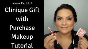 fall 2017 makeup tutorial