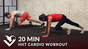 20 minute hiit cardio workout at home