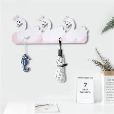 Nordic Wood Shelves Kids Coat Rack Wall Hanging Shelf Hooks Star Swan Kids Baby Girl Room Decor Display Stand Holder Organizer Buy At The Price Of 11 03 In Aliexpress Com Imall Com