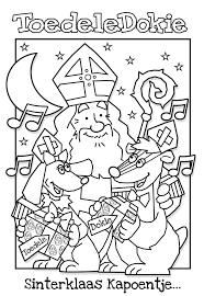Sinterklaas Kleurplaat Toedeledokie