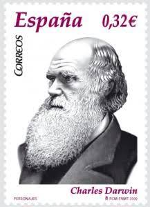 "Resultado de imagem para selo de CHARLES DARWIN"""