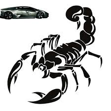 Scorpion Totem Decals Car Stickers Car Styling Vinyl Decal Sticker For Cars Decoration Black Walmart Com Walmart Com