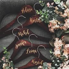 2 5cm Wedding Custom Name Vinyl Sticker For Wood Diy Hanger Bridal Wedding Party Birthday Stickers Decal Bride Groom Gift Wall Stickers Aliexpress