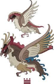 "Pidgeot And Mega Pidgeot "" - Mayan Art Style Pokemon, HD Png ..."