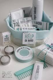 Help De Bano Amenities Para Toilette De Casamiento Canastito De