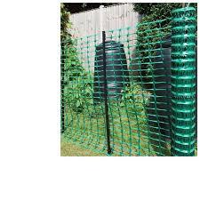 Boen 4 Ft H X 100 Ft W Green Garden Snow Safety Barrier Nylon Fence Reviews Wayfair