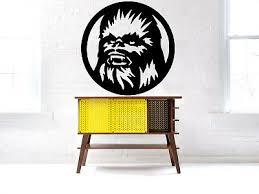 Wall Room Vinyl Sticker Mural Decal Star Wars Chewbacca Chewie Film Game O68 751778745333 Ebay