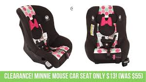 minnie mouse car seat only 13