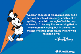inspirational walt disney quotes on business and success
