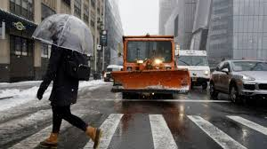 queens as forecast predicts wintry mix