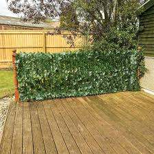 40pcs 5m Artificial Faux Ivy Leaf Privacy Fence Screen Screening Hedge For Outdoor Indoor Decor Garden Backyard Patio Decoration Fencing Trellis Gates Aliexpress