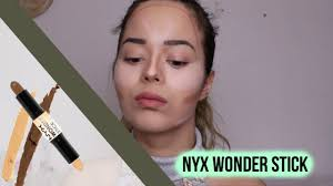 nyx wonder stick review um tan