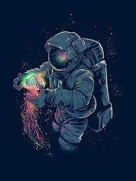 psychonaut astronaut art space art