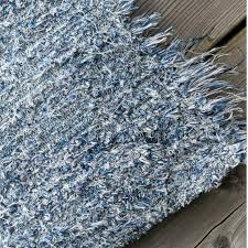 blue rug area rug bathroom rug nursery