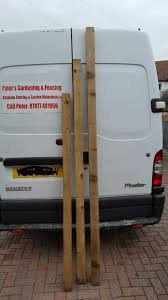 Wood Timber Posts Fencing And Gardening Contrator Nottingham