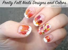 45 pretty fall nails designs and colors
