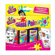 glass paints set painting kit outliner