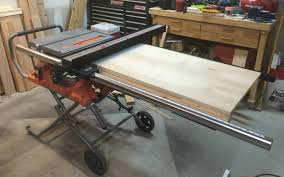 Table Saw Extension Wing Table Saw Extension Craftsman Table Saw Ryobi Table Saw
