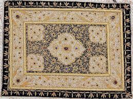 carpet zardozi kashmir rug wall hanging