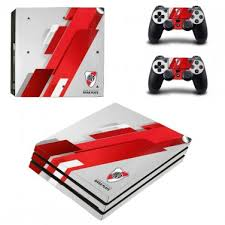 Club Atletico River Plate Decal Skin Sticker For Ps4 Pro Console And Controllers