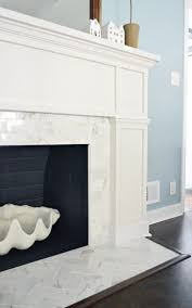 marble tile a new mantel