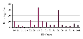 high risk hpv type distribution