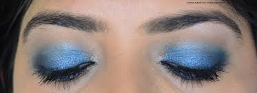 easy blue smokey eyes makeup tutorial