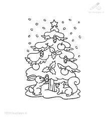Kleurplaat Kerst Kerstbomen Kleurplaat Oh Denneboom