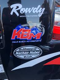 Kyle Busch Motorsports On Twitter All 4 Of Our Tundras Tonight Are Carrying A Decal In Remembrance Of Nathan Huber Nathan Worked At Rowdy Manufacturing Building Our Chassis He Passed Away This