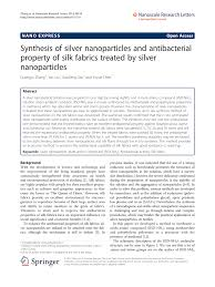 pdf synthesis of silver nanoparticles